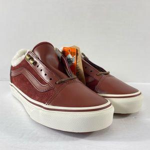 Vans Old Skool MTE DX Burgundy Sneakers